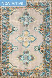 Famous Maker Vintage Karen Blue Area Rug