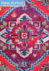 Famous Maker Bohemian Abby Purple Area Rug