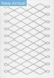 Famous Maker Stasia Shag Grey Area Rug