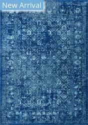 Famous Maker Herminia Vintage Blue Area Rug
