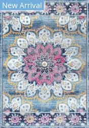 Famous Maker Vintage Kiyoko Turquoise Area Rug