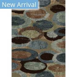 Orian Majestic Shag Pulpit Blue Area Rug