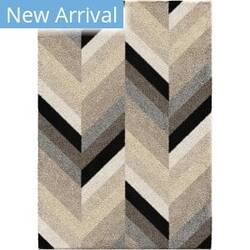 Orian Super Shag Glass Chevron Multi Area Rug