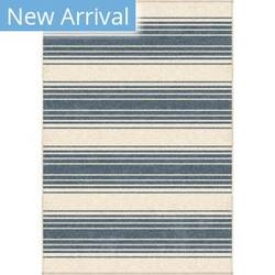 Orian Farmhouse Simple Stripe Light Blue Area Rug