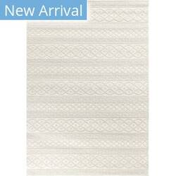 Orian Jersey Home Organic Cable Ivory Area Rug