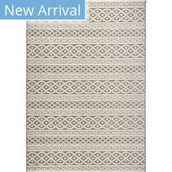 Orian Jersey Home Organic Cable Sand Area Rug