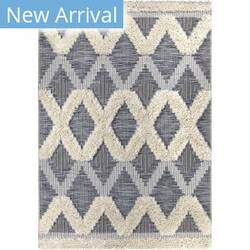 Orian Navajo Sacred Mountains Black Area Rug