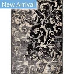 Orian American Heritage Distressed Scroll Taupe Area Rug