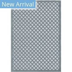 Orian Farmhouse Fusion Lattice Harbor Blue Area Rug