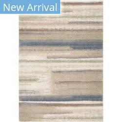 Orian Plush Shag Modern Tonal Blue Area Rug