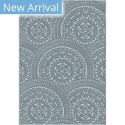 Orian Boucle Stoke Harbor Blue Area Rug