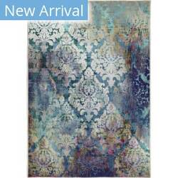 Orian Transitions Galena Indigo Area Rug