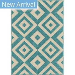 Orian Kids Court Maricopa Teal Area Rug