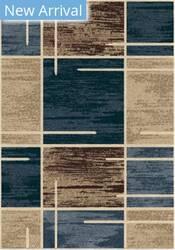 Orian Majestic Shag Armada Blue Area Rug