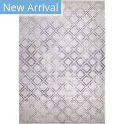 Orian Bali Checkers Anyone White Area Rug