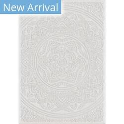 Orian Farmhouse Mandala Natural Area Rug