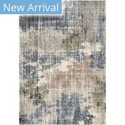 Orian Portland Basque Muted Blue Area Rug