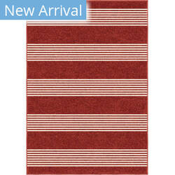 Orian Veranda Portsmouth Red Area Rug