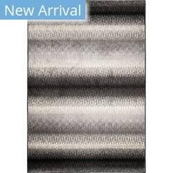 Orian American Heritage Fresco Stripe Black Area Rug