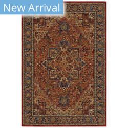 Oriental Weavers Ankara 604r5 Red - Blue Area Rug