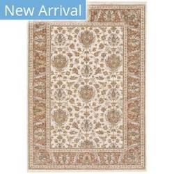 Oriental Weavers Maharaja 5091q Rust - Ivory Area Rug
