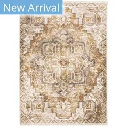 Oriental Weavers Maharaja 661c1 Gold - Ivory Area Rug