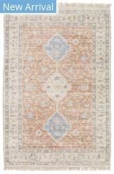 Oriental Weavers Malabar 45305 Orange - Blue Area Rug