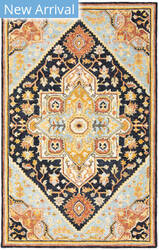 Oriental Weavers Alfresco 28408 Navy - Rust Area Rug
