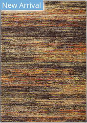 Rugstudio Sample Sale 189538R Gold - Charcoal Area Rug