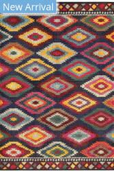 Oriental Weavers Bohemian 668n5 Navy - Multi Area Rug