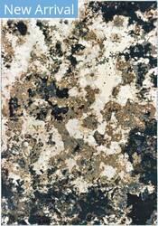 Oriental Weavers Bowen 1808q Navy - Gold Area Rug