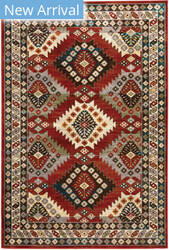 Oriental Weavers Juliette 002r3 Red - Multi Area Rug