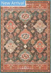 Oriental Weavers Toscana 9570b Charcoal - Orange Area Rug