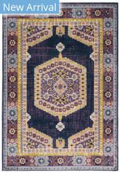 Oriental Weavers Xanadu 001b6 Purple - Gold Area Rug