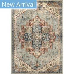 Palmetto Living Alexandria King Fisher Pale Blue Area Rug
