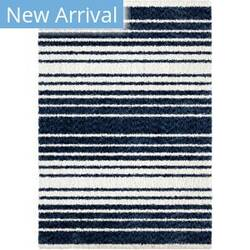 Palmetto Living Cotton Tail Ombre Stripe Navy Area Rug