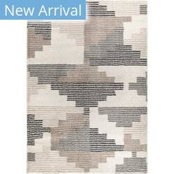 Palmetto Living Mystical Deco Blocks Muted Blue Area Rug