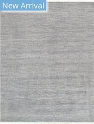 Pasargad Transitional Grass-100jbs Slateblue - Charcoal Area Rug