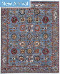 Ramerian Antiquity Anq-14 Blue Area Rug