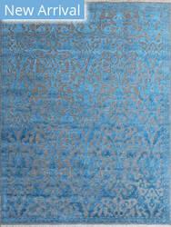 Rugstudio Sample Sale 185497R Teal Area Rug