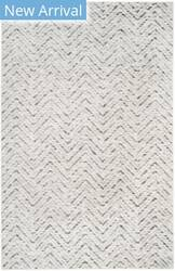 Rugstudio Sample Sale 154785R Ivory - Charcoal Area Rug