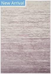 Rugstudio Sample Sale 166043R Cream - Purple Area Rug