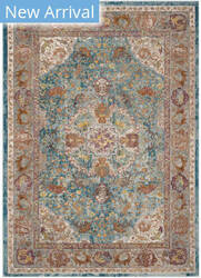 Safavieh Aria Ara120b Blue - Orange Area Rug
