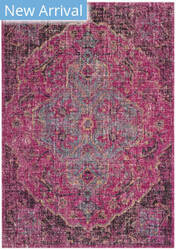 Safavieh Artisan Atn501b Fuchsia - Anthracite Area Rug