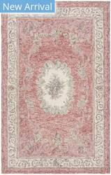 Safavieh Aubusson Aub105q Red - Ivory Area Rug