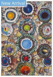 Safavieh Aztec Azt206c Blue - Multi Area Rug