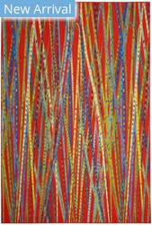 Safavieh Aztec Azt208a Orange - Multi Area Rug