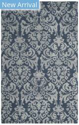 Safavieh Bella Bel156b Navy - Grey Area Rug