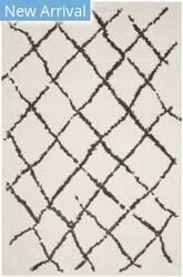 Safavieh Berber Shag Ber162a Creme - Brown Area Rug
