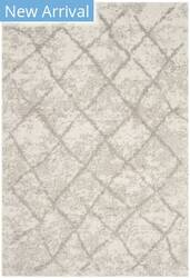 Safavieh Berber Shag Ber162c Cream - Light Grey Area Rug